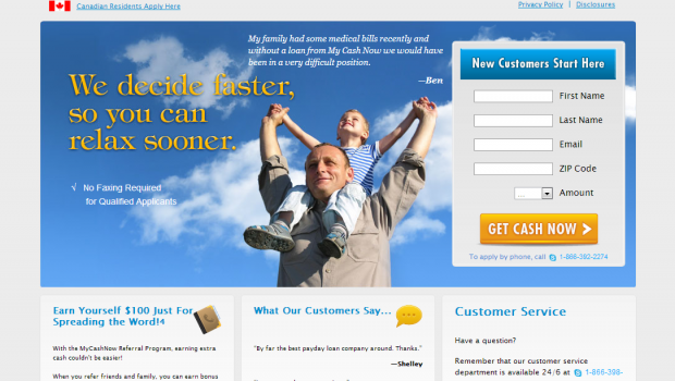 Online Payday Loans Kansas >> My Cash Now - Best Payday Loans